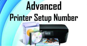 advanced printer setup