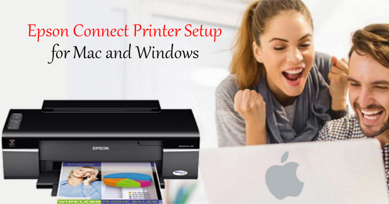 Epson Connect Printer Setup