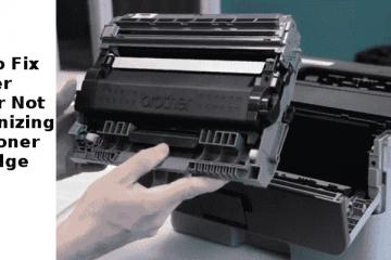 Brother Printer Not Recognizing New Toner Cartridge