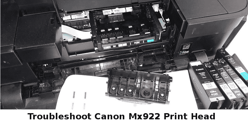 Canon Mx922 Print Head errors
