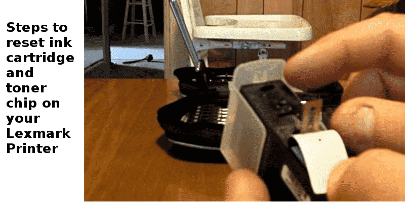 lexmakr printer toner ink cartridge reset