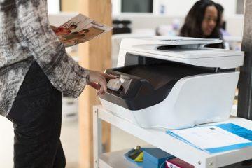 printer needs user intervention