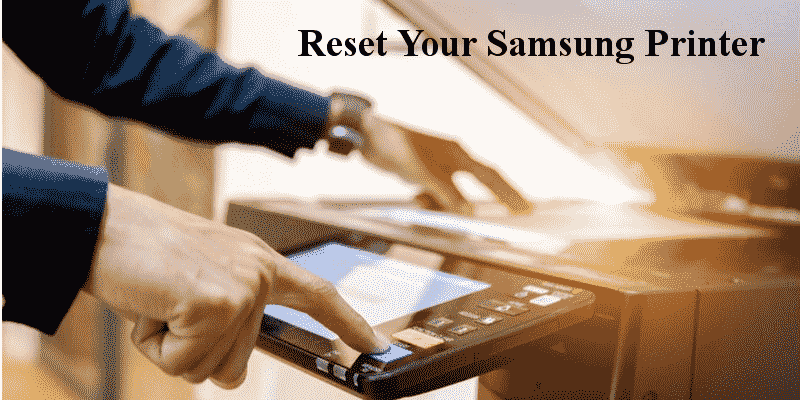 reset your samsung printer to default settings