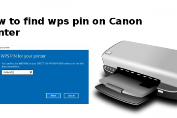 wps pin on canon printer
