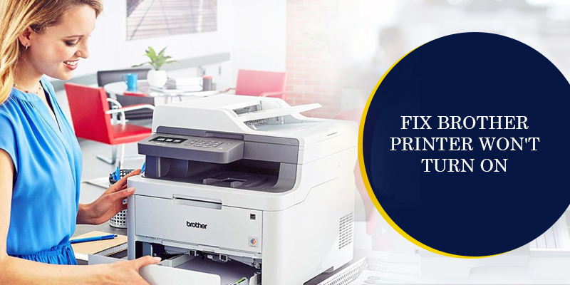 brother printer not turning on