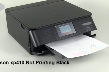 Epson xp410 Not Printing Black