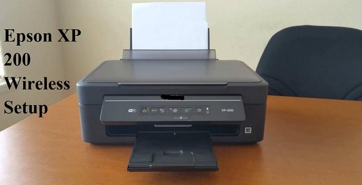 Epson XP 200 WiFi Setup