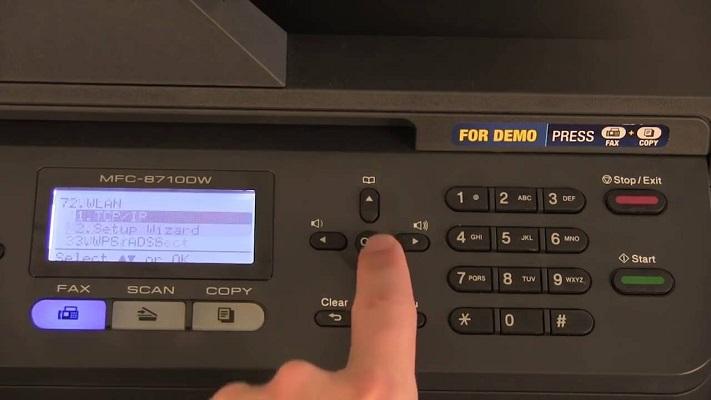 Brother MFC-L2700DW WiFi Setup