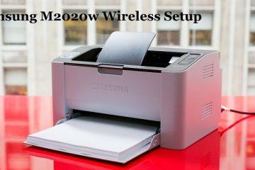 Samsung M2020w Wireless Setup