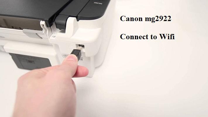 canon mg2922 setup