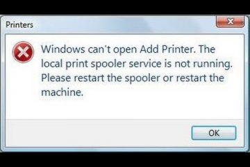 print spooler keep stopping