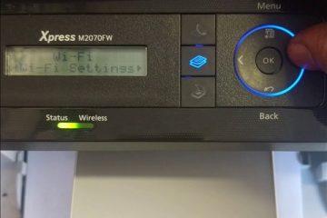 samsung m2070 wifi setup