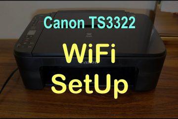 canon ts3322 wifi setup