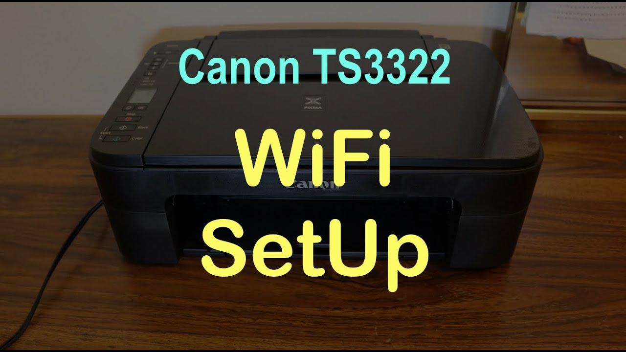 Canon Pixma TS20 Setup   Canon TS20 Connect to Wifi