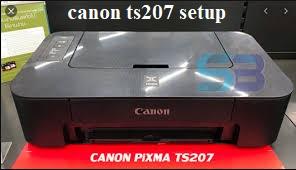canon ts207 setup